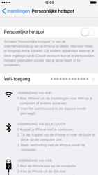Apple iPhone 6s iOS 10 - WiFi - WiFi hotspot instellen - Stap 9