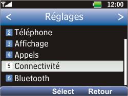 LG C360 Golf - Internet - Configuration manuelle - Étape 16