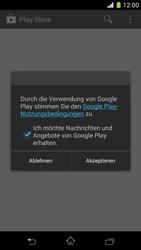 Sony Xperia Z1 Compact - Apps - Konto anlegen und einrichten - 20 / 22