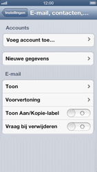 Apple iPhone 5 - E-mail - Handmatig instellen - Stap 4