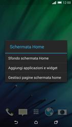 HTC One M8 - Operazioni iniziali - Installazione di widget e applicazioni nella schermata iniziale - Fase 4