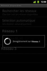 Alcatel OT-983 - Réseau - Sélection manuelle du réseau - Étape 12