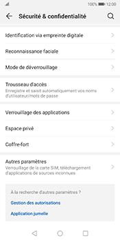 Huawei Mate 10 Pro - Android Pie - Prise en main - Comment activer un code SIM - Étape 4