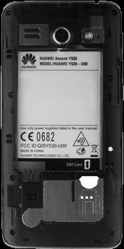 Huawei Ascend Y530 - SIM-Karte - Einlegen - 8 / 13