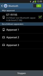 Samsung I9195 Galaxy S IV Mini LTE - bluetooth - aanzetten - stap 7
