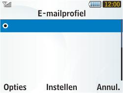 Samsung S3350 Chat 335 - E-mail - Handmatig instellen - Stap 8