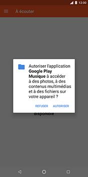 Nokia 7 Plus - Photos, vidéos, musique - Ecouter de la musique - Étape 5