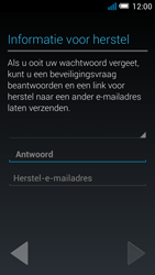 Alcatel OT-5036X Pop C5 - Applicaties - Account aanmaken - Stap 15