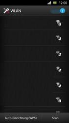 Sony Xperia U - WiFi - WiFi-Konfiguration - Schritt 6