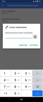 Sony Xperia 1 - Anrufe - Rufumleitungen setzen und löschen - Schritt 10
