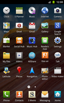 Samsung N7000 Galaxy Note - E-mail - Manual configuration - Step 3