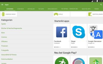 Samsung T535 Galaxy Tab 4 10.1 - Apps - Installieren von Apps - Schritt 6