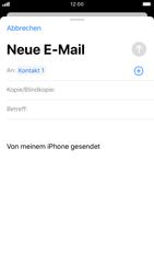 Apple iPhone 8 - iOS 13 - E-Mail - E-Mail versenden - Schritt 6