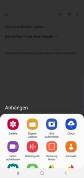 Samsung Galaxy S10 - E-Mail - E-Mail versenden - Schritt 13