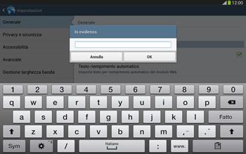 Samsung Galaxy Tab 3 10-1 LTE - Internet e roaming dati - Configurazione manuale - Fase 24