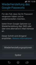 Sony Xperia E3 - Apps - Konto anlegen und einrichten - 14 / 25