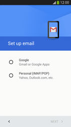 Samsung Galaxy S 4 LTE - E-mail - 032a. Email wizard - Gmail - Step 7