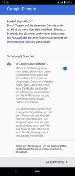 Sony Xperia 1 - Apps - Konto anlegen und einrichten - Schritt 20