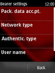 Nokia Asha 300 - MMS - Manual configuration - Step 13