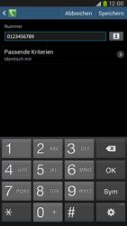 Samsung I9205 Galaxy Mega 6-3 LTE - Anrufe - Anrufe blockieren - Schritt 12