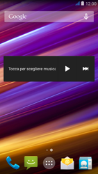 Wiko jimmy - Operazioni iniziali - Installazione di widget e applicazioni nella schermata iniziale - Fase 7