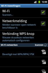 Samsung S5690 Galaxy Xcover - wifi - handmatig instellen - stap 7