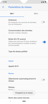 Nokia 6.2 - Réseau - Sélection manuelle du réseau - Étape 13