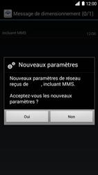 Huawei Ascend G6 - MMS - Configuration automatique - Étape 6