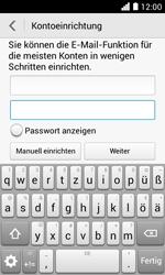Huawei Ascend Y330 - E-Mail - Konto einrichten - Schritt 7