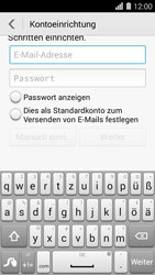 Huawei Ascend Y550 - E-Mail - Konto einrichten (outlook) - 2 / 2