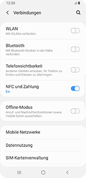 Samsung Galaxy S9 - Android Pie - Bluetooth - Verbinden von Geräten - Schritt 5