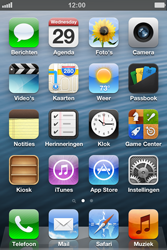 Apple iPhone 4 (iOS 6) - toestel resetten - fabrieksinstellingen terugzetten - stap 1