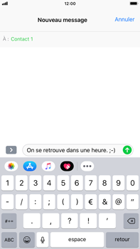 Apple iPhone 6 Plus - iOS 12 - MMS - envoi d'images - Étape 7