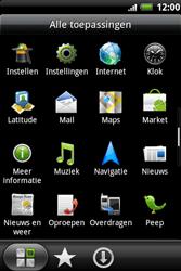 HTC A510e Wildfire S - internet - hoe te internetten - stap 2