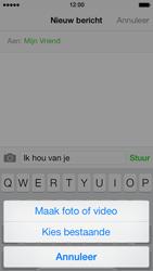 Apple iPhone 5s - MMS - Afbeeldingen verzenden - Stap 8
