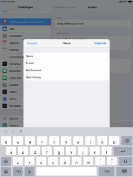 Apple ipad-pro-10-5-inch-ios-12 - E-mail - Account instellen (IMAP met SMTP-verificatie) - Stap 9