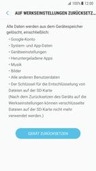 Samsung Galaxy S7 - Android N - Gerät - Zurücksetzen auf die Werkseinstellungen - Schritt 7
