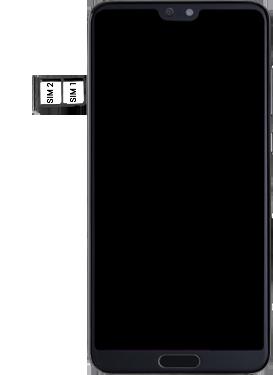 Huawei P20 Pro - SIM-Karte - Einlegen - Schritt 6