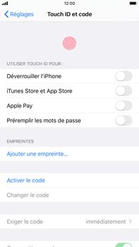 Apple iPhone 6s Plus - iOS 13 - Sécurité - activéz le code PIN de l'appareil - Étape 4