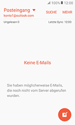 Samsung Galaxy Xcover 3 VE - E-Mail - Konto einrichten (outlook) - 0 / 0