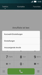 Huawei Y5 - Anrufe - Rufumleitungen setzen und löschen - 4 / 9