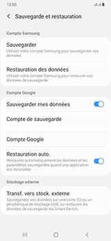 Samsung Galaxy A50 - Données - créer une sauvegarde avec votre compte - Étape 7