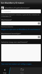 BlackBerry Z30 - apps - account instellen - stap 5