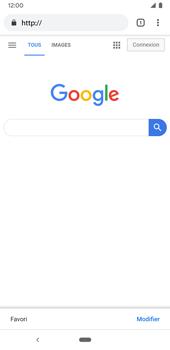 Google Pixel 3a - Internet et connexion - Naviguer sur internet - Étape 10