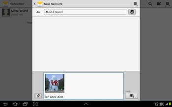 Samsung Galaxy Note 10-1 - MMS - Erstellen und senden - 16 / 21