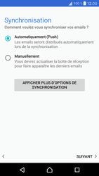 Sony Xperia X Compact - E-mail - 032c. Email wizard - Outlook - Étape 13