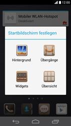 Huawei Ascend P6 - Startanleitung - Installieren von Widgets und Apps auf der Startseite - Schritt 4