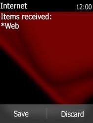 Nokia Asha 300 - Settings - Configuration message received - Step 14