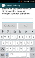 Huawei Y3 - E-Mail - Konto einrichten (yahoo) - Schritt 7