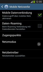 Samsung Galaxy Grand Neo - Internet - Manuelle Konfiguration - 7 / 29